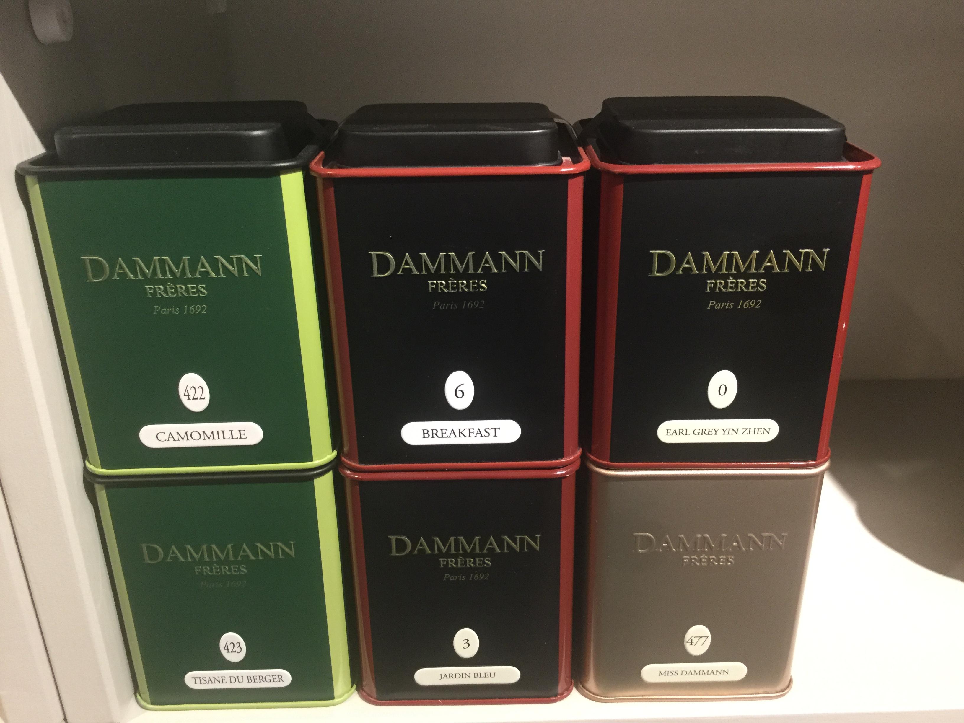 Dammann frères losse thee en buideltjes
